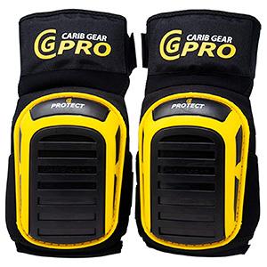 Carib Gear Pro Safety Heavy Duty Gel Knee Pads