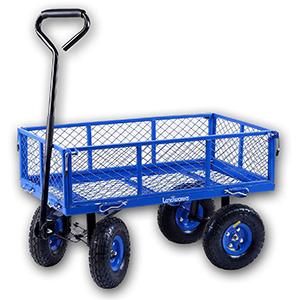 Landworks 2103Q044A Heavy Duty Lawn/Garden Utility Cart