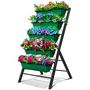 Outland Living 4-Foot Vertical Raised Garden Bed